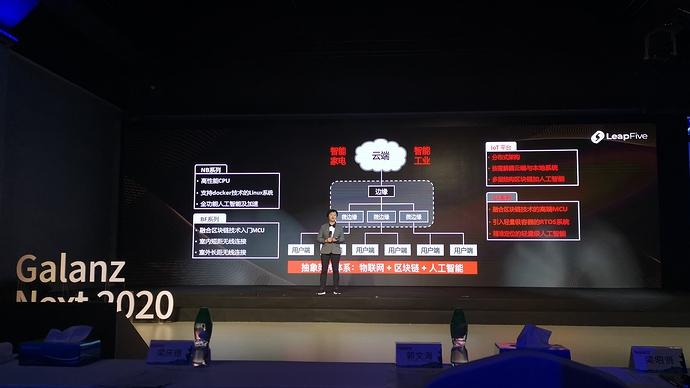 跃昉科技CTO江朝晖博士现场发布了开源芯片赋能智能家居及智能制造的全栈解决方案